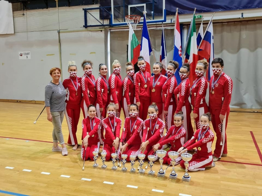 Sportska Hrvatska Pozeske mazoretkinje i Twirling klub Pozega ostvarili odlicne rezultate na Europskom prvenstvu u Porecu