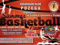 Košarkaški klub Požega organizira ljetni košarkaški kamp za djevojčice i dječake rođene 2005. godine i mlađe