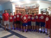 Mladi košarkaši Požege na Kampu Hrvatskog košarkaškog kampa u Biogradu