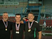 Veterani Atletskog kluba Požega osvojili 5. mjesto na Otvorenom prvenstvu Hrvatske