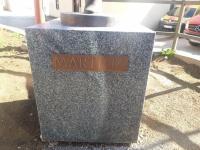 Na skulpturu rukometašice postavljen je natpis Martina