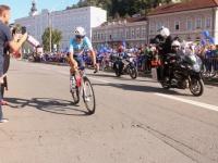 Slovenac Marko Kump pobjednik prve etape biciklističke utrke CRO Race koja je vožena kroz grad Požegu i cijelu Požeško - slavonsku županiju