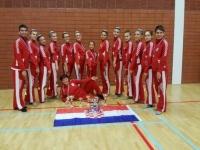 Požeške mažoretkinje nastupile za Hrvatsku reprezentaciju na Europskom prvenstvu u Nizozemskoj