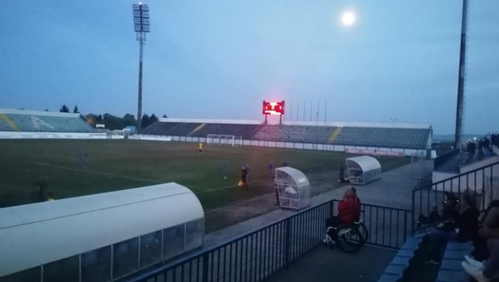 Slavonija i Marsonia odigrali neodlučeno u 6. kolu 3. HNL - Istok, utakmica prekinuta u 75. minuti zbog nestanka struje