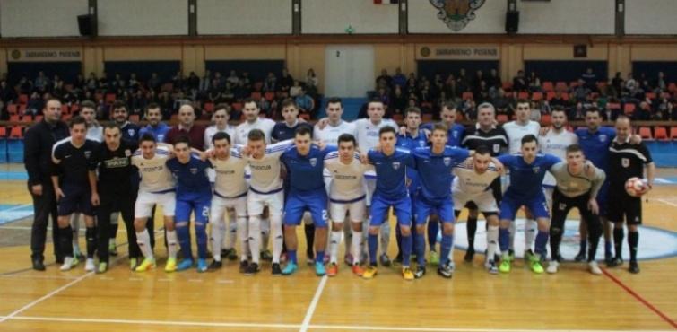 Caffe bar Sportivo i Futsal Dinamo odigrali neodlučeno, 3:3 u humanitarnoj malonogometnoj utakmici za pomoć djevojčici Katarini Drakulić