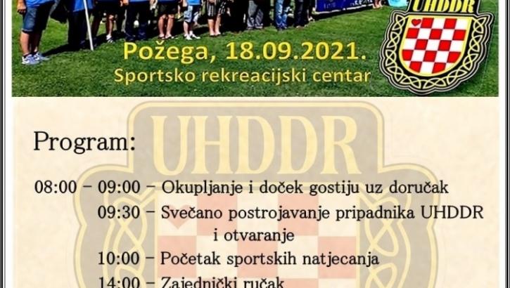 Memorijalni turnir za poginule hrvatske branitelje Požeško - slavonske županije održat će se u subotu, 18. rujna na SRC Požega