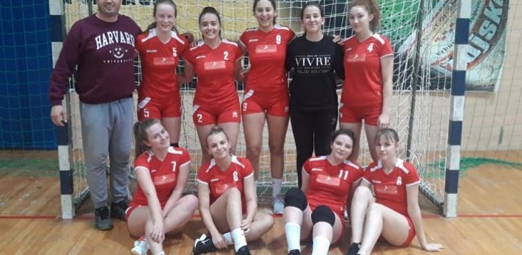 Učenice ŠSD Gimnazija osvojili 1. mjesto na županijskom natjecanju u rukometu Školskih sportskih društava srednjih škola