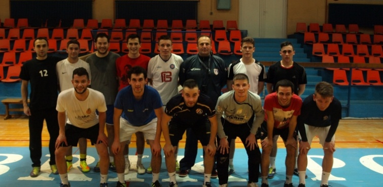 Ekipa Caffe bara Sportivo održala trening pred sutrašnji dolazak Futsal Dinama