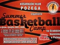 Košarkaški klub Požega organizira ljetni košarkaški kamp od 10. - 22. srpnja 2017.