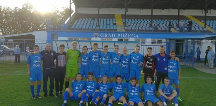 Kadeti Slavonije u četvrtfinalu Kupa regije na svom terenu uverljivo svladali Slogu (Nova Gradiška)
