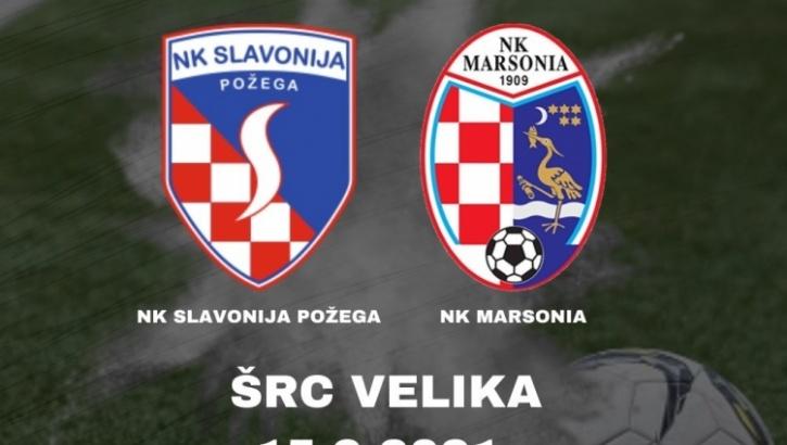 Slavonija danas s početkom u 18,00 sati u Velikoj protiv Marsonie (Slavonski Brod) igra susret 6. kola 3. HNL - Istok