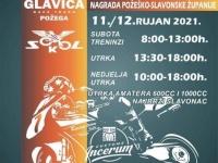 Narednog vikenda na Glavici će se održati Međunarodno otvoreno prvenstvo Hrvatske u cestovnim moto utrkama -Nagrada Požeško-slavonske županije