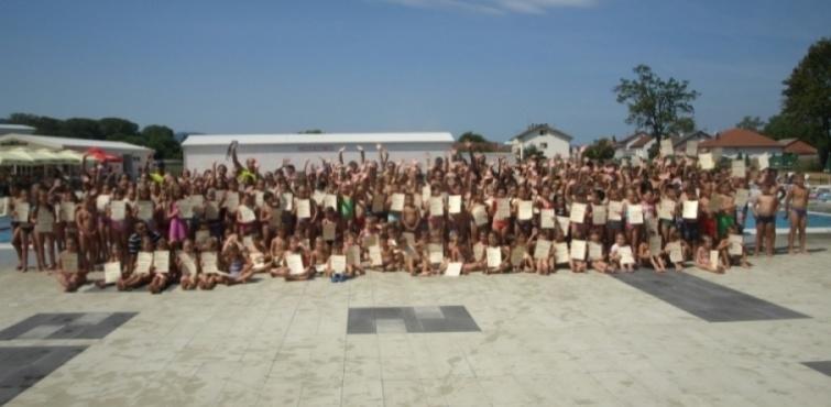 Čak 407 polaznika upisano u Školi plivanja Požeškog športskog saveza, svečano otvorenje je u petak, 05. 07. u 10,30 sati
