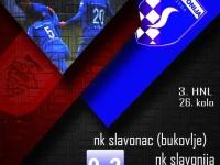 Slavonija osvojila sva tri boda na gostovanju kod Slavonca u Bukovlju, u 26. kolu 3. HNL - Istok