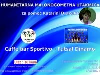 U pretprodaji su ulaznice za humanitarnu malonogometnu utakmicu C. B. Sportivo - Futsal Dinamo
