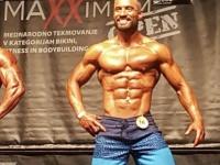 Adrijan Marušić (Fitness klub Play) pobjednik Maxximum Opena u kategoriji Mens physique