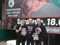 Borci Bushida osvojili 2 srebra na jakom kickboxing turniru u Sarajevu