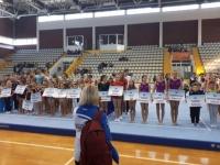 Juniorke Gimnastičkog društva Sokol osvojile ekipno 2., a juniori 3. mjesto  u B programu na Završnici Kupa Hrvatske