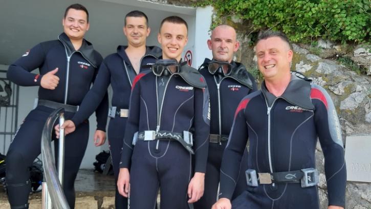Ronilački klub Požega završnim uronom u Kosteni obučio pet novih ronioca