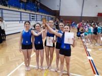 Gimnastičarke Sokola nastupile na 1. kolu Kupa Hrvatske regija istok u ženskoj sportskoj gimnastici - C program