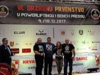 Odlični rezultati natjecatelja Powerlifting kluba Body Art na državnom prvenstvu u Virovitici