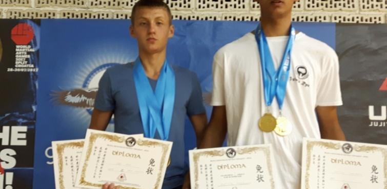 Odlični rezultati članova Karate - do kluba Požega na Svjetskim igrama borilačkih sportova u Splitu