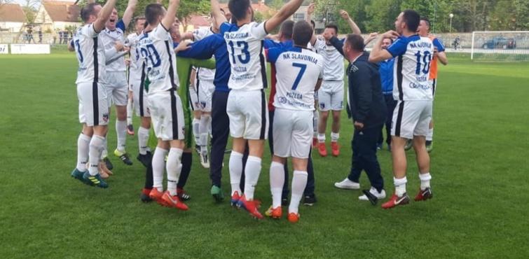 Slavonija pobijedila Kutjevo u polufinalu Županijskog nogometnog kupa, a u finalu, 05. lipnja u Velikoj će igrati protiv Slavije (Pleternica)