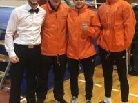 Boksač Graciana Ilija Marijanović ostvario pobjedu nokautom u 6. kolu 1. Hrvatske boksačke lige