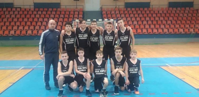 ŠSD Sloga (OŠ Julija Kempfa) osvojila prvo mjesto na Županijskom natjecanju u košarci za učenike Osnovnih škola