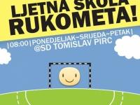 Ljetna Škola rukometa od 01. 07. do 01. 08. 2018. u Sportskoj dvorani Tomislav Pirc