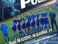 Juniori Slavonije osvojili Županijski nogometni kup