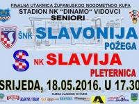 Sutra se u Vidovcima igra finalna utakmica Županijskog nogometnog kupa