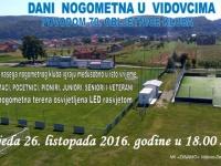 U srijedu, 26. listopada u Vidovcima se obilježava 70. godišnjica Nogometnog kluba Dinamo Vidovci Dervišaga