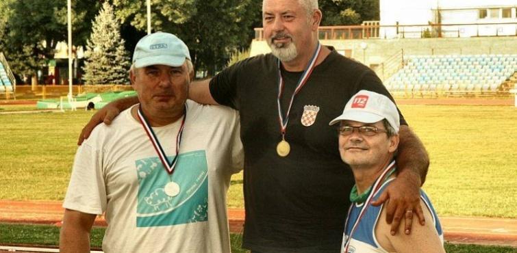 Odlični rezultati atletičara Požege na Veteranskom prvenstvu Hrvatske