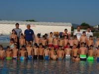 NK Dinamo Vidovci Dervišaga organizirao besplatni ljetni kamp plivanja i nogometa