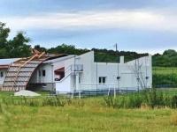Nevrijeme uništilo krov na prostorijama Nogometnog kluba Parasan u Golobrdcima