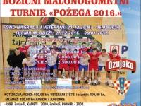 """Počele prijave za 26. Božićni malonogometni turnir """"Požega 2016"""""""