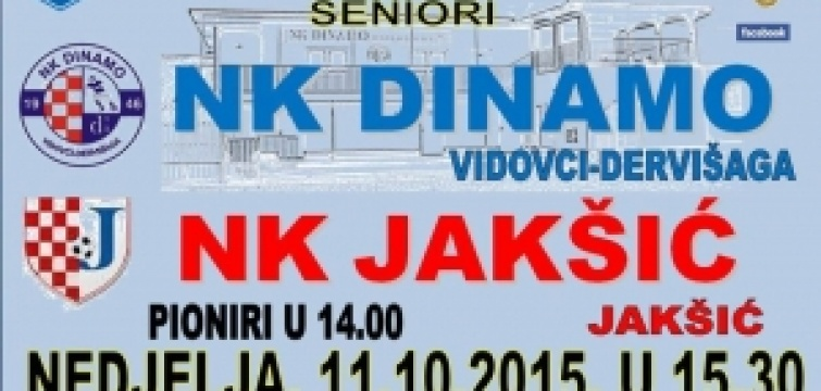 7. kolo 1. ŽNL : Dinamo domaćin, Požega i Croatia gosti